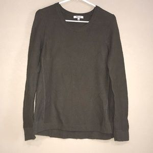 Madewell Womens Riverside Textured Pullover Medium